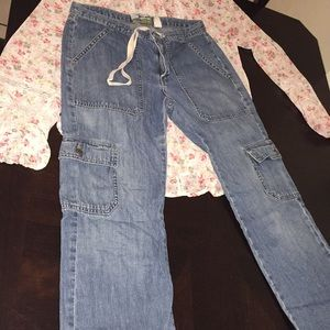 Vintage Old Navy Low Waist Straight Leg Carpi